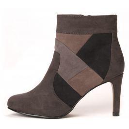 s.Oliver dámská kotníčková obuv 37 tmavě šedá