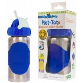 Pacific Baby Hot-Tot termoska s brčkem 260 ml - modrá