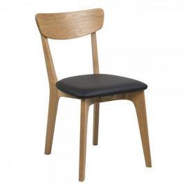 Design Scandinavia Jídelní židle dřevěná Xena (SET 2 ks)