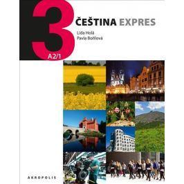 Holá Lída, Bořilová Pavla: Čeština Expres 3 (A2/1) anglická + CD Slovníky, učebnice