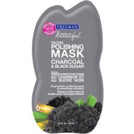 Freeman Peelingová maska s uhlím a cukrem (Facial Polishing Mask Charcoal & Black Sugar) (Objem 175 ml)
