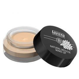 Lavera Přírodní pěnový make-up (Natural Mousse Make-up) 15 g (Odstín 01 slonová kost)