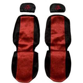 F-CORE Potahy na sedadla PS09, červené