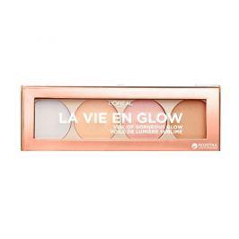 L'Oréal Rozjasňující paletka Wake Up & Glow La Vie En Glow 5 g