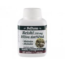 MedPharma Reishi 250 mg + hlíva ústřičná + maitake + shiitake 67 tablet