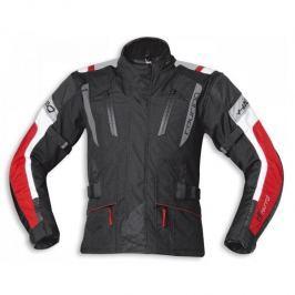 Held pánská bunda 4-TOURING vel.L černá/červená, textilní REISSA