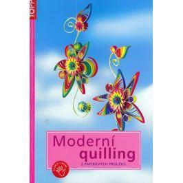 Moderní quilling z papírových proužků - TOPP