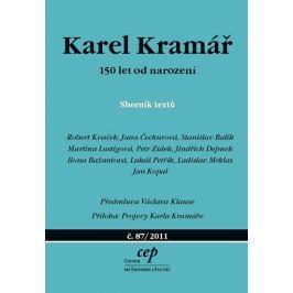 kolektiv: Karel Kramář – 150 let od narození - Sborník textů