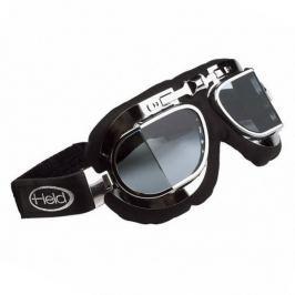Held motocyklové brýle  CLASSIC, stříbrný rám, lomené, dvojité sklo