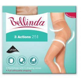 Bellinda 3ACTIONS 25 DEN světle hnědá M