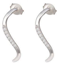 Preciosa Stříbrné náušnice Delicate Perfection 6048 00 stříbro 925/1000