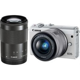 Canon EOS M100 + 15-45 mm + 55-200 mm White