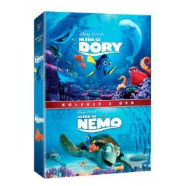 Kolekce Hledá se Nemo + Hledá se Dory (2DVD)   - DVD