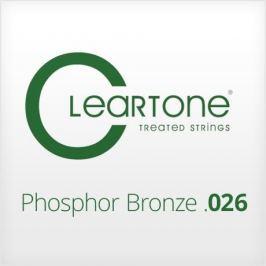 Cleartone Phosphor Bronze .026 Kovová struna pro akustickou kytaru Struny