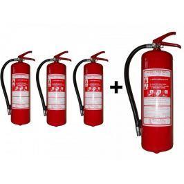 Hastex Práškový hasicí přístroj 6 kg P6Te - 3+1 zdarma