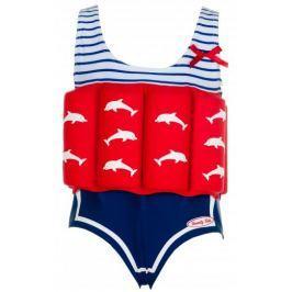 Beverly Kids Dívčí nadnášející plavky Marlene 104 modro-červené
