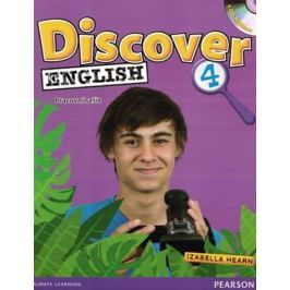 Freebairn Ingrid: Discover English 4 Workbook Czech Edition