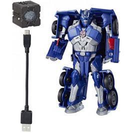 Transformers MV5 Interaktivní figurka s Prajiskrou - Optimus Prime