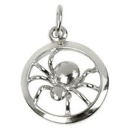 Brilio Silver Stříbrný přívěsek Pavouček v kruhu 441 001 02042 04 - 0,82 g stříbro 925/1000
