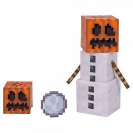 TM Toys Minecraft - Snow Golem sběratelská figurka s doplňky