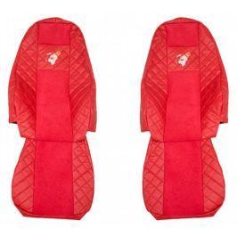 F-CORE Potahy na sedadla FX14, červené