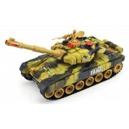 Teddies Tank RC plast 25cm - hnědá
