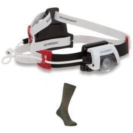 Silverpoint Čelovka Search 310 RC Headtorch + ponožky ZDARMA