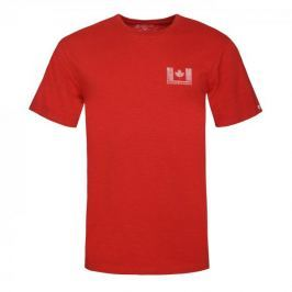 Bushman Tričko BROOKSIDE red, červená, L