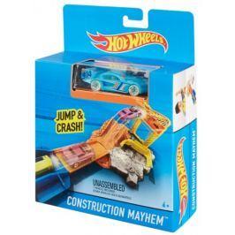 Hot Wheels Dráha do kapsy Construction Mayhen