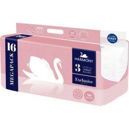 Harmony Toaletní papír Exclusive Pure 3-vrstvý 16 rolí