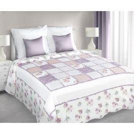 My Best Home Přehoz na postel Patchwork růžová 220x240 cm