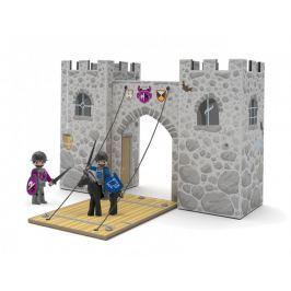 Igráček Igráčkův hrad + 2x Igráček rytíř s mečem a štítem, 1x koník