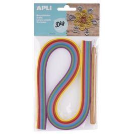 Quilling Apli sada barevné proužky a pero