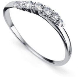 Oliver Weber Stříbrný prsten s krystaly Petite 63227R (Obvod L (56 - 59 mm)) stříbro 925/1000