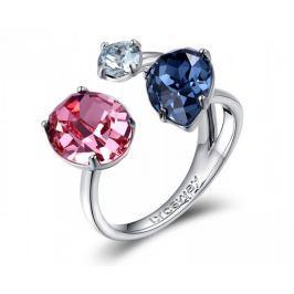 Brosway Otevřený prsten s krystaly Affinity BFF33 (Obvod 54 mm) Prsteny