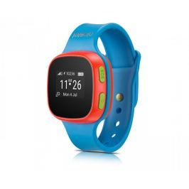 Alcatel MOVE TIME Track&Talk Watch, modrá / červená - rozbaleno