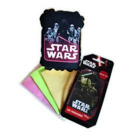 KAJA Dárkový set, sada do auta, 5 ks, motiv Star Wars, houba Kylo Ren + Trooper, vůně Zelený čaj