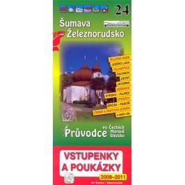 Šumava - Železnorudsko 24. - Průvodce po Č,M,S + volné vstupenky a poukázky