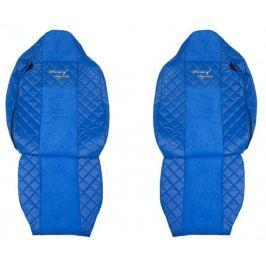 F-CORE Potahy na sedadla FX11, modré