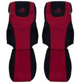 F-CORE Potahy na sedadla PS29, červené