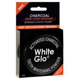 Charcoal Černý pudr White Glo 30 g