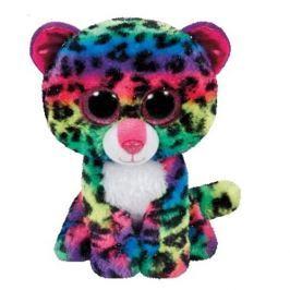 TY DOTTY - duhový leopard 42 cm