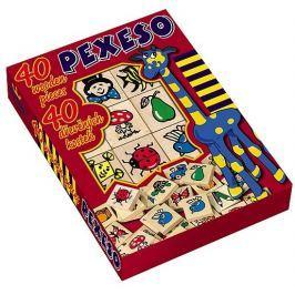 Detoa Pexeso 40 dřevěných kostek