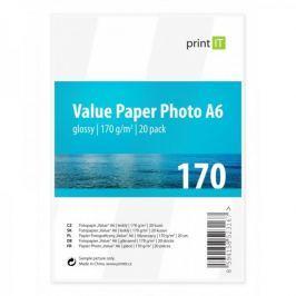 Print IT Value A6, 170g/m2, 20 listů, lesklý (PI-98)