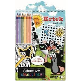 Krtek - Sametové omalovánky