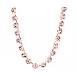 Brosway Ocelový náhrdelník s krystaly Swarovski N-Tring BTN35