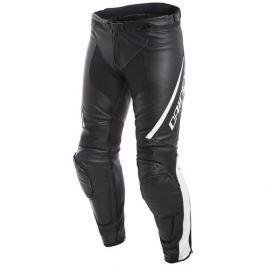 Dainese kalhoty ASSEN vel.46 černá/bílá, kůže