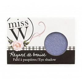 Miss W Oční stíny s vysokým obsahem pigmentu (Eye Shadow) 1,7 g (Odstín No 001 - Pearly White)