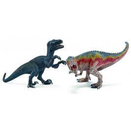 Schleich T-Rex a Velociraptor 42216 Figurky zvířat