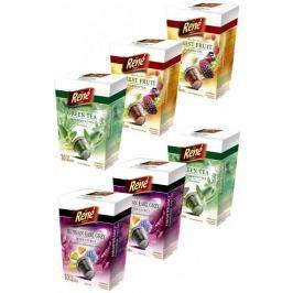 René Mix pack čajových kapslí pro kávovary Nespresso 10 ks, 6 balení